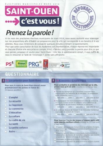 questionnaire p1bis