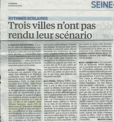 le parisien 12 6 2014