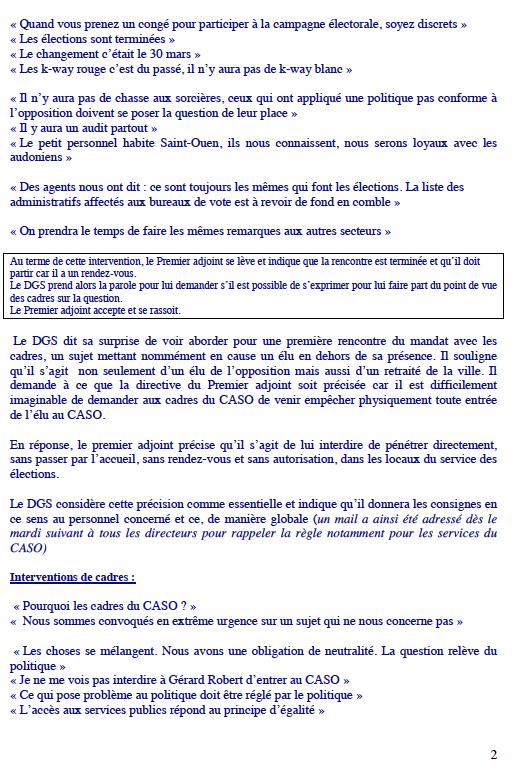 2 Rencontre Cadres 16 mai 2014