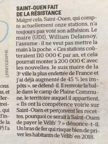 St-Ouen résite au Vélib'